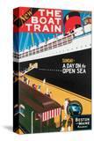 New Boat Train  Sunday on The Open Sea