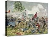 Pickett's Charge  Battle of Gettysburg in 1863
