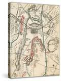 Map of the Battle of Gettysburg  Pennsylvania  1-3 July 1863 (1862-186)