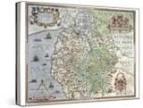 A Map of Westmorland and Cumberland  1576