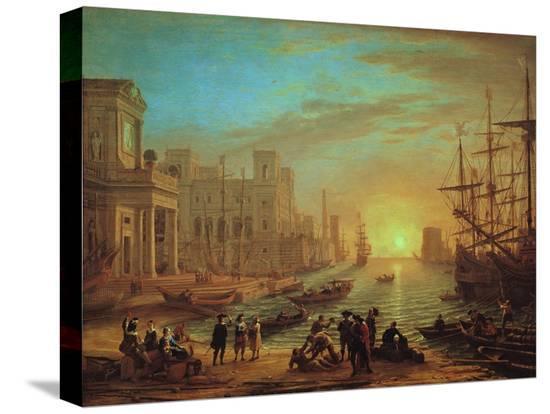 claude-lorraine-seaport-at-sunset-1639