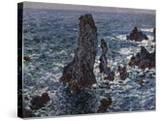 The Rocks in Belle-Ile (Pyramides De Port-Coton  Mer Sauvag)  1886