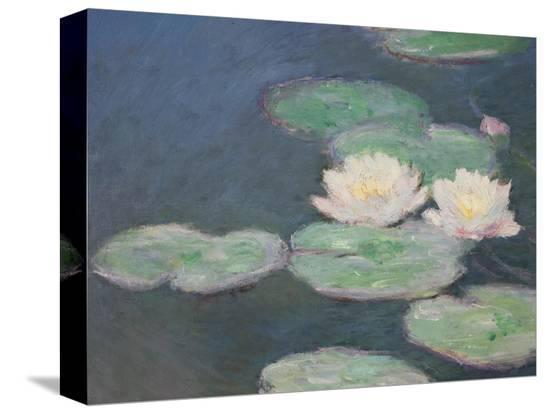 claude-monet-waterlilies-evening-detail