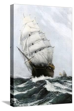 clipper-ship-caribee-famous-for-speed-built-in-maine-in-1852