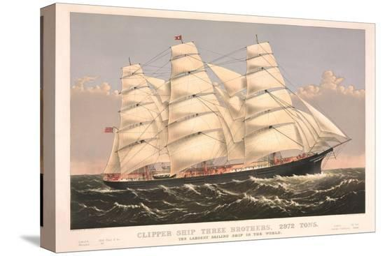 clipper-ship-three-brothers-2972-tons-largest-sailing-ship-in-the-world