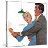 "Decitful Angel  - Saturday Evening Post ""Leading Ladies""  July 16  1955 pg21"