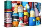 Colorful Lobster & Cod Buoys