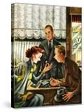 """Engagement Ring "" May 7  1949"