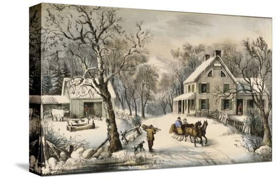 currier-ives-american-homestead-winter