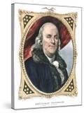 Benjamin Franklin  American Statesman  Printer and Scientist  19th Century