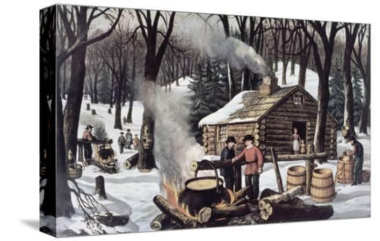 currier-ives-maple-sugaring