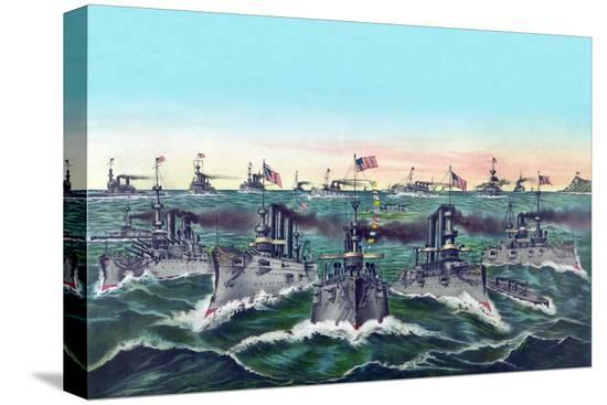currier-ives-william-cramp-and-sons-ship-builders