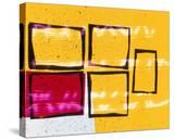 Abstract Image in Yellow and Magenta