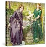 Dantes Vision of Rachel and Leah  1855