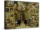 Archduke Leopold Wilhelm (1614-61) in His Picture Gallery  circa 1647
