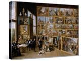 Archduke Leopold Wilhelm in His Gallery in Brussels  Ca 1651