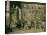 The Archduke Leopold Wilhelm (1614-62) in His Picture Gallery in Brussels  1651