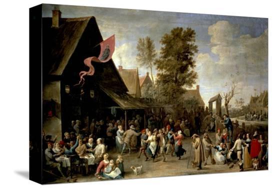david-teniers-the-younger-the-consecration-of-a-village-church-circa-1650