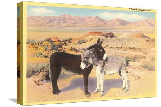 desert-sweethearts-nuzzling-burros