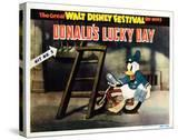 Donald's Lucky Day  Title Card  Donald Duck  1939