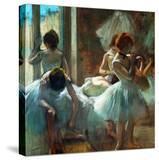 Dancers at Rest  1884-1885