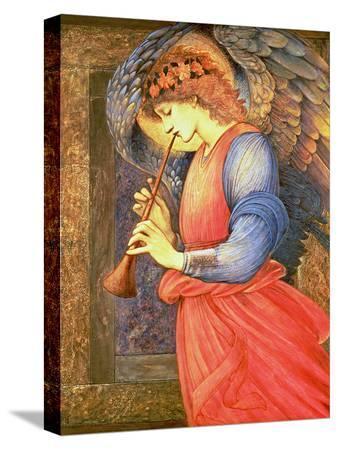 edward-burne-jones-an-angel-playing-a-flageolet-1878