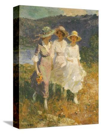 edward-henry-potthast-walking-in-the-hills