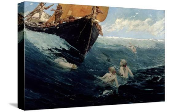 edward-matthew-hale-the-mermaid-s-rock-1894