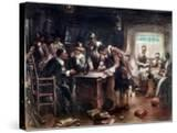 The Signing of the Mayflower Compact  c1900