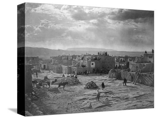 edward-s-curtis-a-feast-day-at-acoma