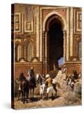 The Gateway of Alah-Ou-Din  Old Delhi  Late 19th Century
