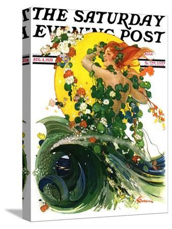 elbert-mcgran-jackson-mermaid-saturday-evening-post-cover-august-4-1928