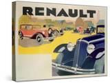 Advertisement for Renault Motor Cars  c1920