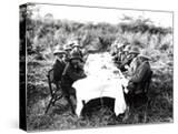 King George V Having Lunch in the Chitwan Valley During a Tiger Shoot  1911