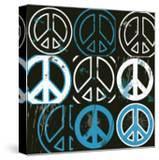 Peace Mantra (blue)