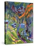 Sertig Path in Summer; Sertigweg Im Sommer  1923