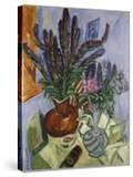 Still Life with Vase of Flowers  1912