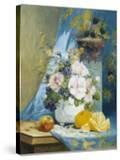 Still Life of Roses with an Orange