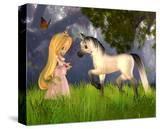 Fairytale Princess & Unicorn