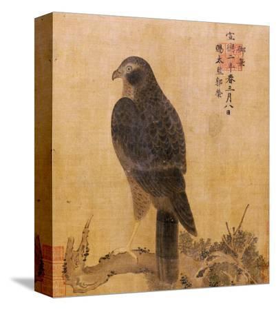 falcon-on-a-pine-limb-emperor-xuande-circa-1426-1435