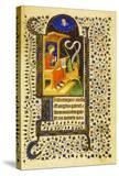Folio 15 Recto  St Luke Sharpening His Pen