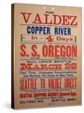 """For Valdex and Copper River""  1901"