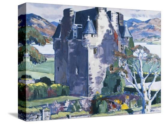 francis-campbell-cadell-barcaldine-castle-argyll