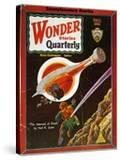 Sci-Fi Magazine Cover  1931