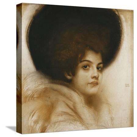 franz-von-stuck-portrait-of-a-lady-with-a-hat