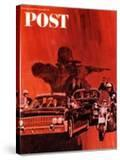 """""""The Kennedy Assassination """" Saturday Evening Post Cover  January 14  1967"""