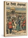 Delhi Durbar  Illustration from 'Le Petit Journal'  Supplement Illustre  24th December 1911