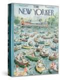 The New Yorker Cover - June 23  1956
