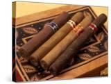 Premium Hand Rolled Cigars on Box