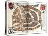Map of Moscow  1572